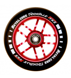 Rueda Metal Core Radius 120mm Wheel Red
