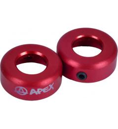 Terminales Apex rojo