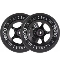 Ruedas Proto Slider 110mm negro 2pcs