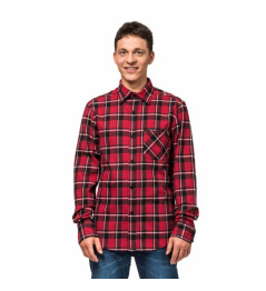 Camisa Horsefeathers Rashid cardinal rojo 2019 vell.XL