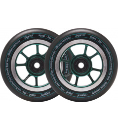 Ruedas North Signal 110mm Forest Green 24mm