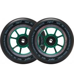 Ruedas North Signal 110x30mm Emerald 2pcs