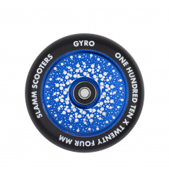 Rueda Slamm Gyro Hollow Core 110mm azul