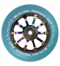 Metal Core Thunder Rainbow 110 mm azul rueda