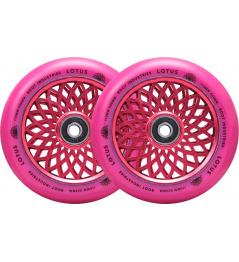 Ruedas Root Lotus 110x24mm Radiant Pink 2pcs