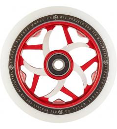 Wheel Striker Essence V3 Blanco 110mm Blanco / Rojo