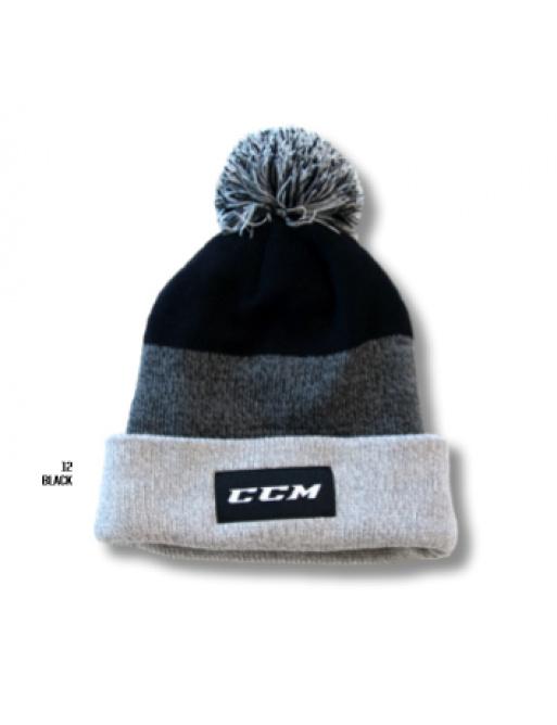 Čepice CCM Team Fleece Pom Knit SR