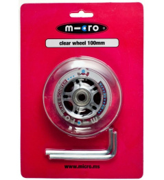 Kolečko Micro 100 mm Clear