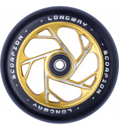 Rueda Longway Scorpion 110mm dorado
