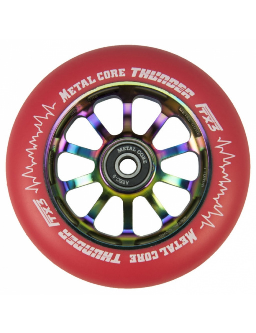 Metal Core Thunder Rainbow 110 mm rojo echador