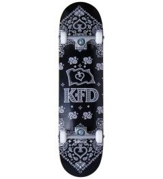 "Skateboard KFD Bandana Set 8 ""Negro"