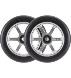 Trynyty Wheels Armadillo 120mm plata 2pcs