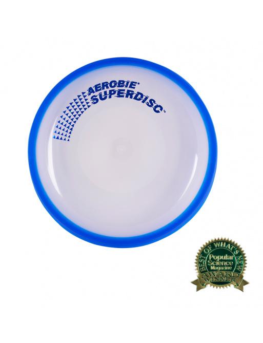 Platillo volador Aerobie SUPERDISC azul