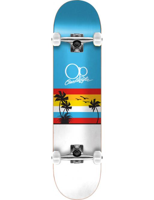 "Ocean Pacific Sunset Skateboard Komplet (8.25"" | Modrá)"