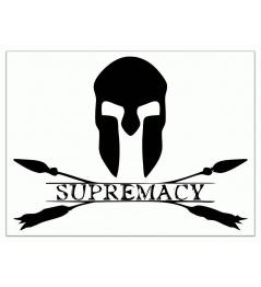 Pegatina Logotipo de supremacía