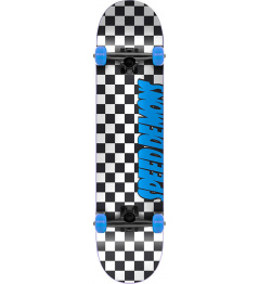 "Patineta Speed Demons Checkers 7.25 ""Azul"