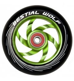 Rueda Bestial Wolf Twister 110mm verde