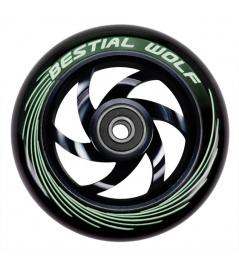 Rueda Bestial Wolf Twister 110mm negra
