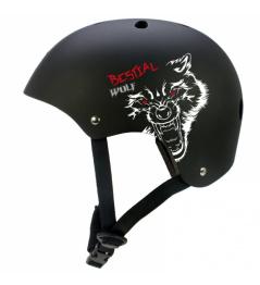 Casco para niños Bestial Wolf Blackskull (XXS-S)