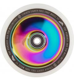 Rueda Delantera Lighty Full Core V3 White Rainbow